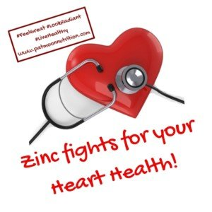 Zinc fights for your Heart Health!