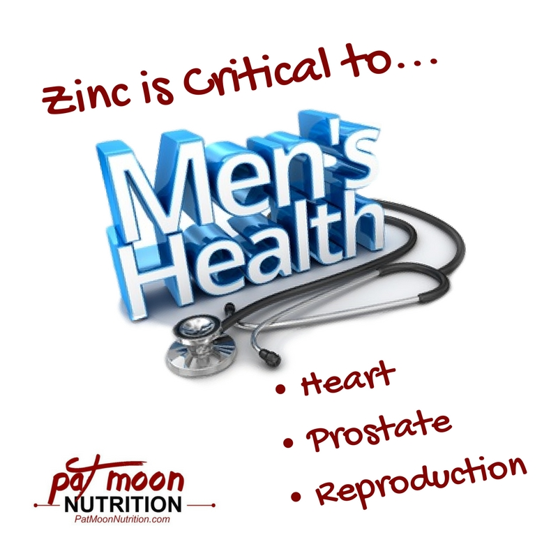 Zinc is Critical to...Mens Health